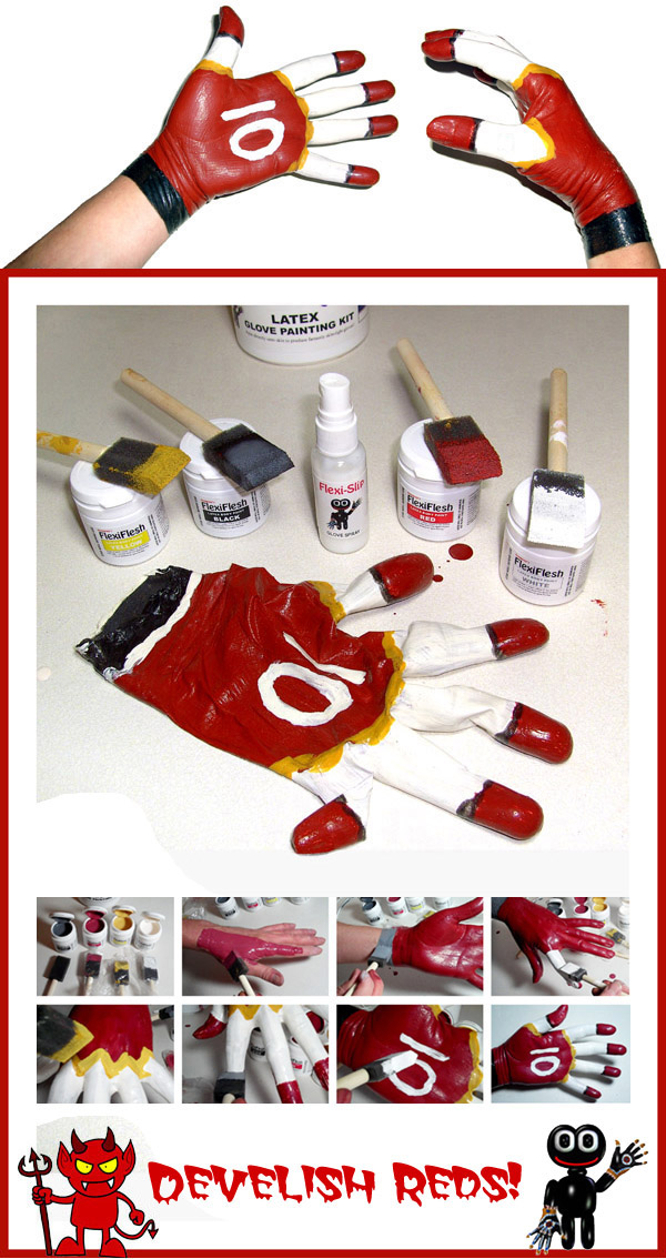 Latex Glove Making Kits - Red