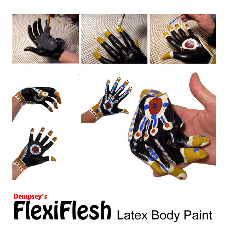 Liquid Latex Gloves